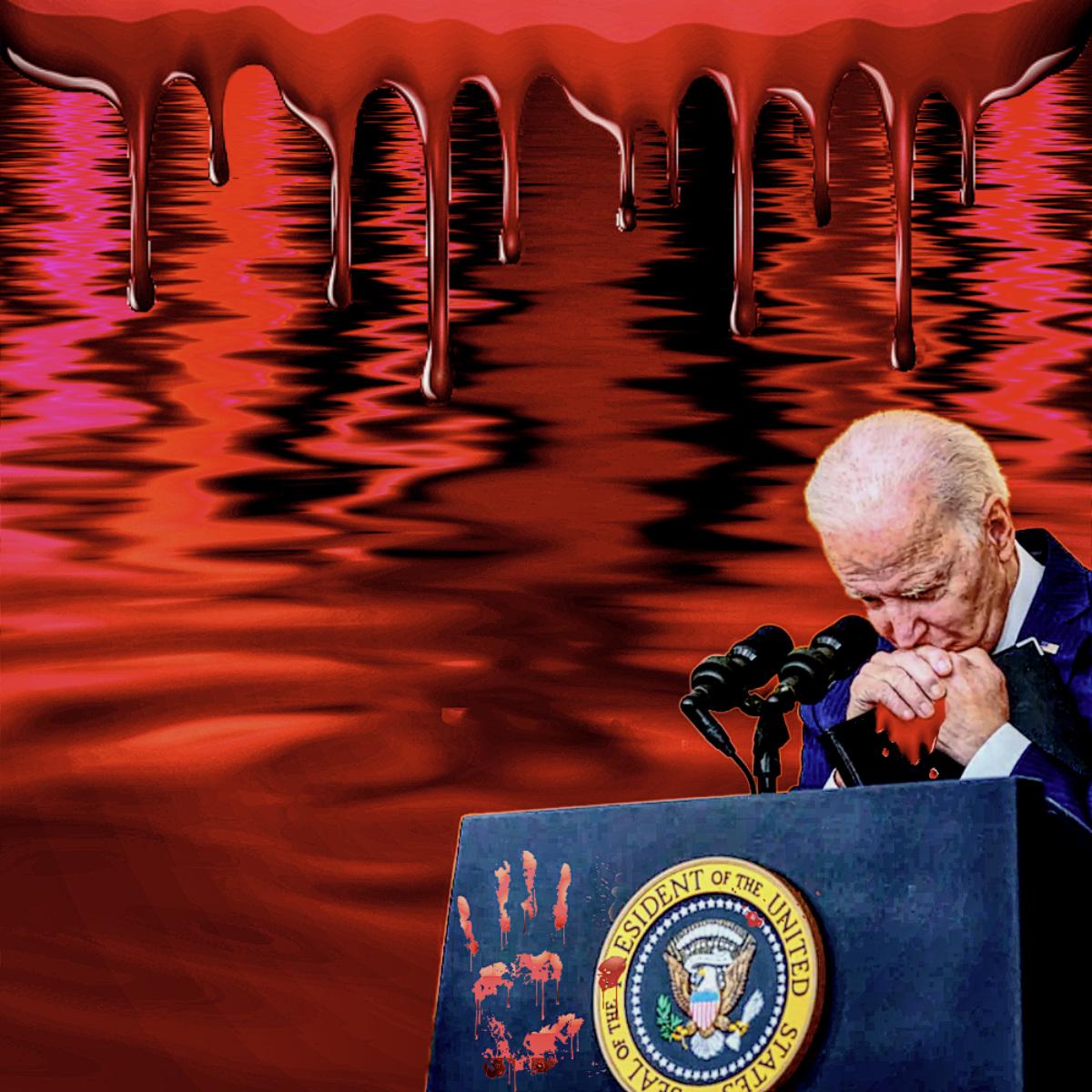 rivers of blood afghanistan biden