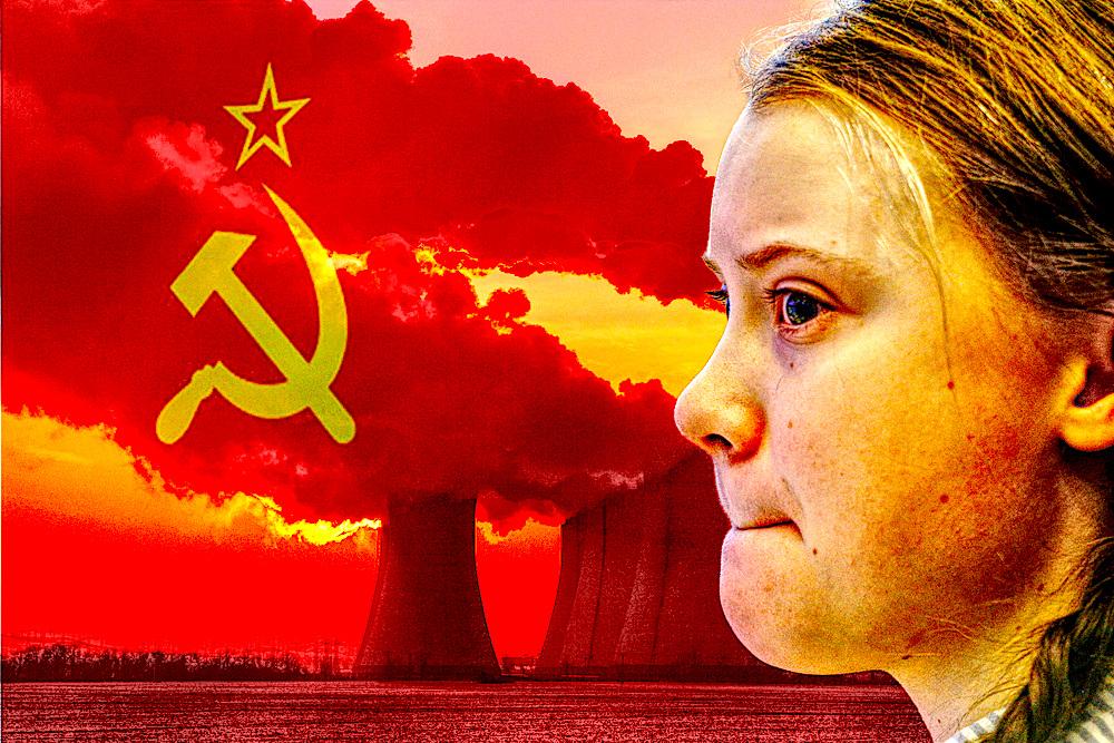 greta thunberg china pollution silence