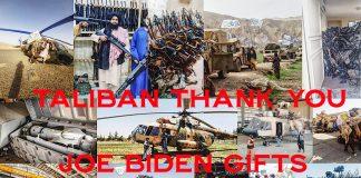taliban 2.0 thanks joe biden for gifts