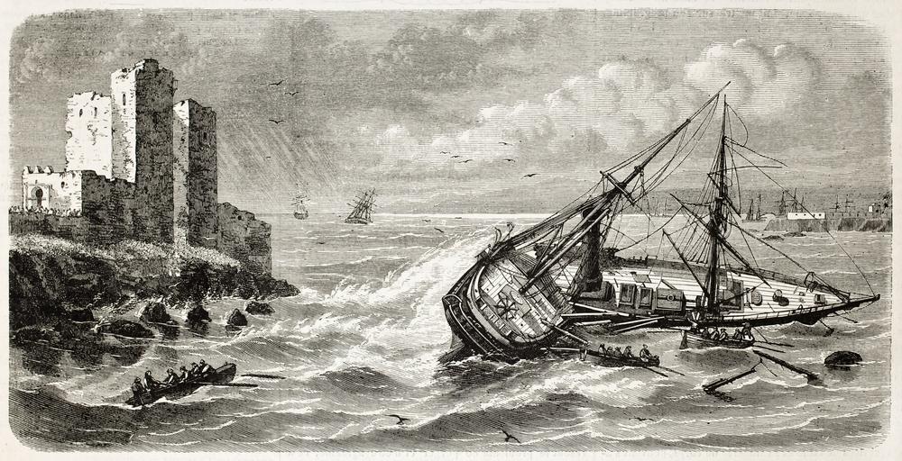 frigates shipwreck