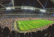 sports tech football stadium
