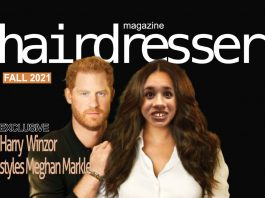 harry meghan hairdresser magazine cover 2021