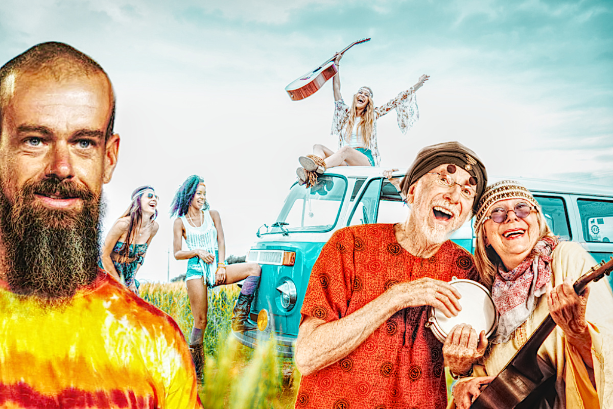 twitter ceo jack dorsey hippy commune