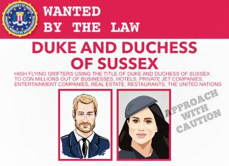 DUKE AND DUCHESS OF SUSSEX WANTED