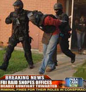 snopes debunked after fbi raid